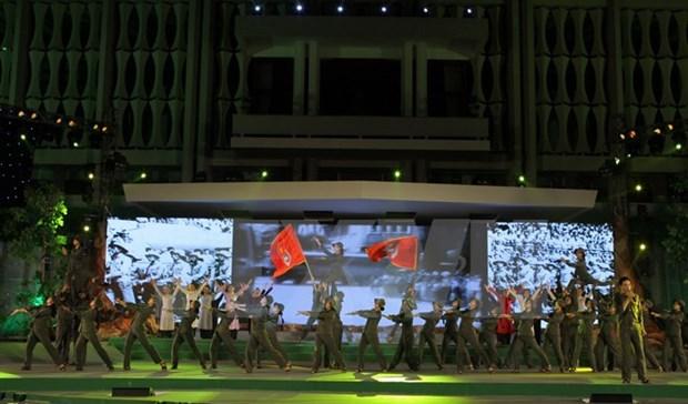 Celebration des 40 ans des forces de jeunes volontaires de Ho Chi Minh-Ville hinh anh 2