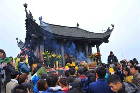 Developpement du tourisme spirituel a Yen Tu hinh anh 1