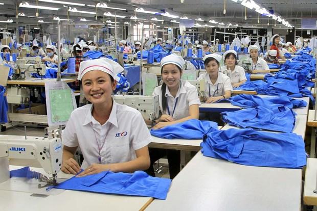 Productivite: le textile vietnamien au 1er rang mondial hinh anh 1
