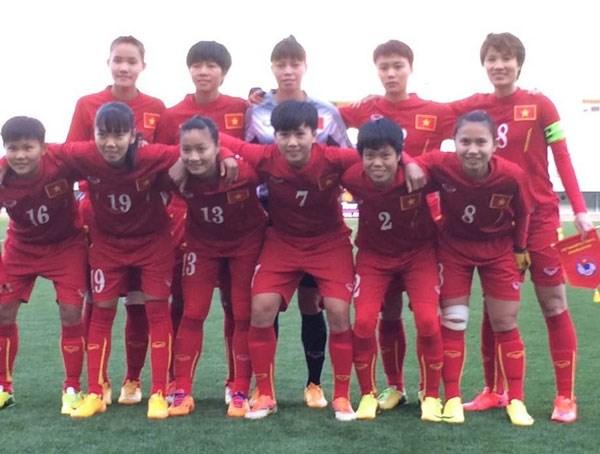 Football feminin : le Vietnam a recule a la 35e place du classement de la FIFA hinh anh 1