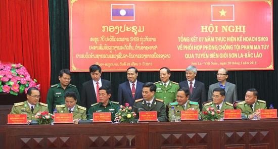 Vietnam et Laos cooperent dans la lutte transfrontaliere contre la drogue hinh anh 1