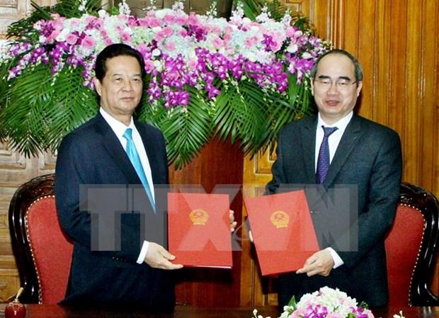 Promouvoir la coordination entre le gouvernement et le Front de la Patrie hinh anh 1