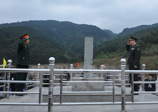 Defense: activites des 3e echanges d'amitie frontaliere sino-vietnamienne hinh anh 1