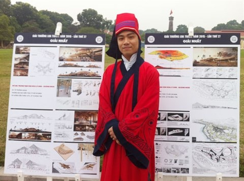 Un etudiant reve de construire un centre culturel a Ly Son hinh anh 1