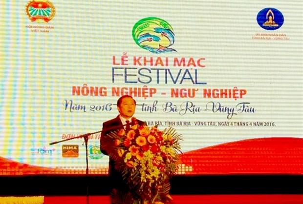 Le Festival de l'agriculture et de la peche a Ba Ria – Vung Tau hinh anh 1