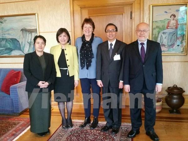 Renforcement de la cooperation entre l'ASEAN et la Norvege hinh anh 1