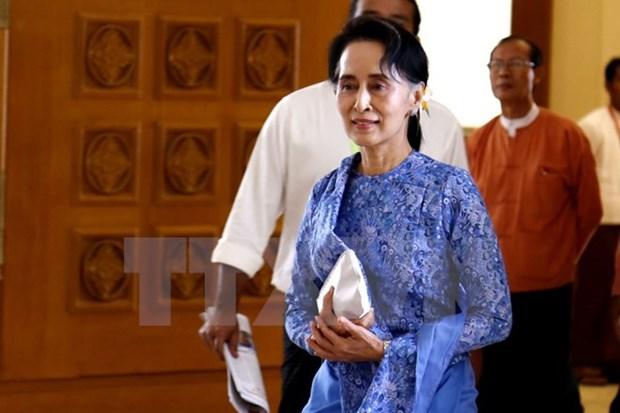 Le Myanmar adopte le projet de loi de nomination d'un conseiller d'Etat hinh anh 1
