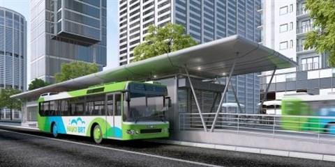 Hanoi va mettre en service huit lignes de bus rapide hinh anh 1