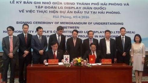 LG Display lance un projet de 1,5 milliard de dollars a Hai Phong hinh anh 1