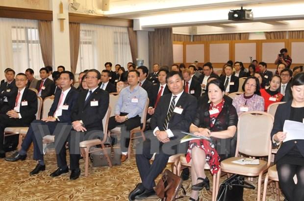 Hong Kong : seminaire sur les opportunites d'affaires et d'investissement au Vietnam hinh anh 1