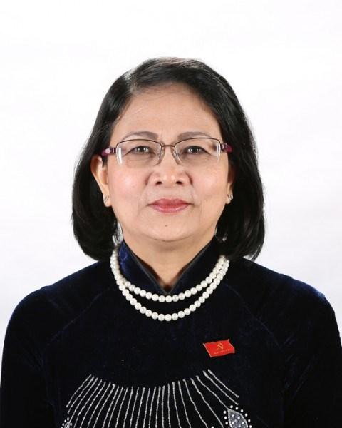 Mme Dang Thi Ngoc Thinh elue vice-presidente de la Republique hinh anh 1
