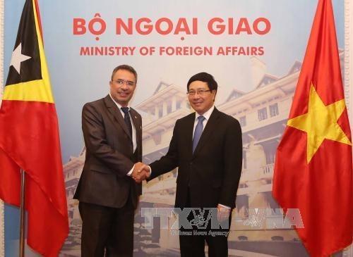 Renforcement de la cooperation multiforme entre Vietnam et Timor-Leste hinh anh 1