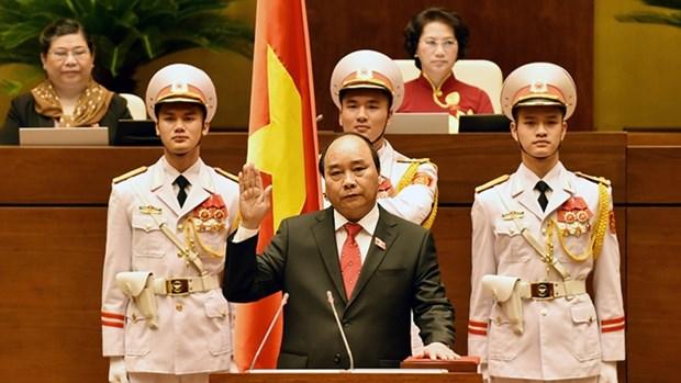 Messages de felicitations au nouveau Premier ministre Nguyen Xuan Phuc hinh anh 1