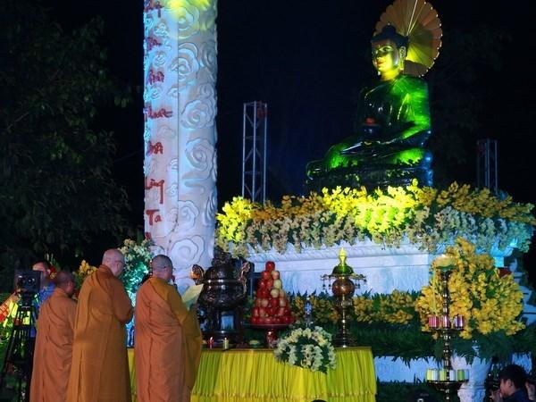 Hai Phong accueille la statue du Bouddha de Jade pour la paix universelle hinh anh 1