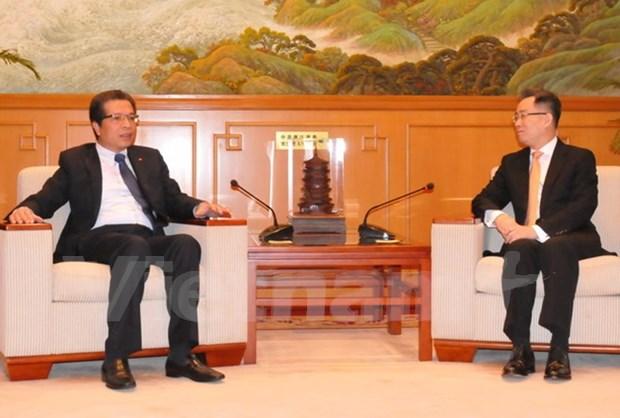 L'ambassadeur du Vietnam en Chine plaide pour l'amitie et la cooperation entre les deux pays hinh anh 1