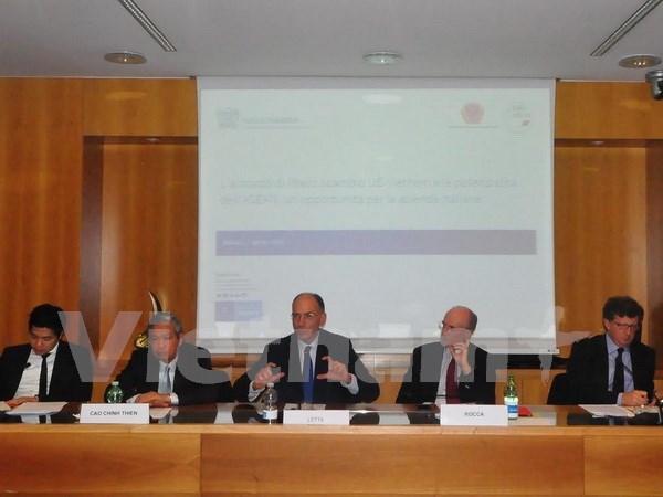 Vietnam, destination attrayante des entreprises italiennes au sein de l'ASEAN hinh anh 1