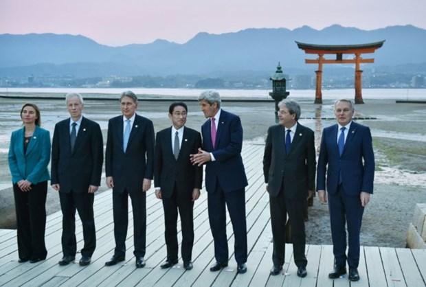 Mer Orientale : le G7 souligne l'importance de la protection de la liberte maritime hinh anh 1