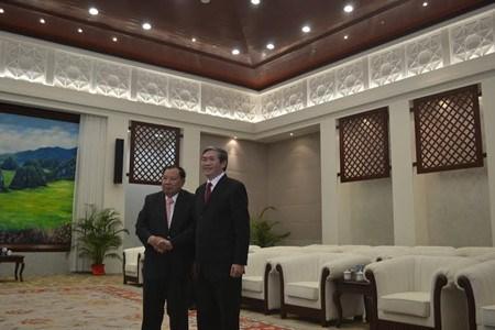 Promotion des relations integrales Vietnam-Laos hinh anh 1
