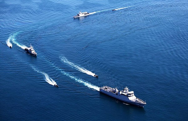 Exercice naval multilateral Komodo 2016 en Indonesie hinh anh 1