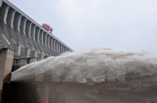 La Chine continue de liberer de l'eau dans le Mekong hinh anh 1