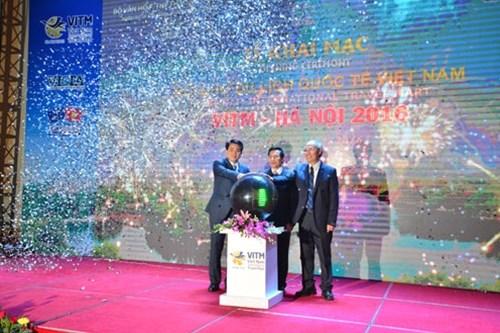 Ouverture de la Foire internationale du tourisme du Vietnam 2016 hinh anh 1