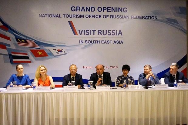 Ouverture d'un office du tourisme russe a Hanoi hinh anh 1