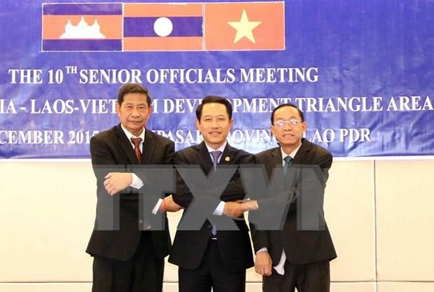 Quatrieme round de negociations sur l'Accord de promotion du commerce Cambodge-Laos-Vietnam hinh anh 1