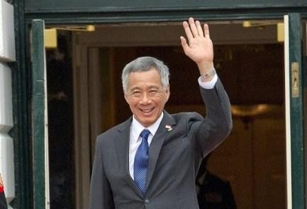 Premiere visite officielle d'un PM singapourien en Israel hinh anh 1