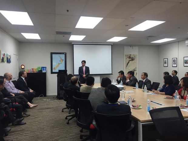 Vietnam et Nouvelle-Zelande promeuvent la connexion entre leurs entreprises hinh anh 1