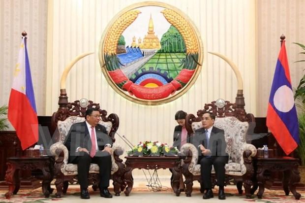 Le Laos et les Philippines renforcent leur cooperation hinh anh 1