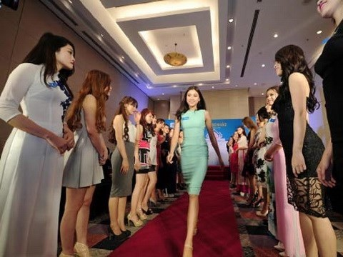 Miss Mer du Vietnam 2016 chante la beaute vietnamienne et la splendeur marine hinh anh 1