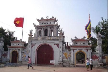 Le temple Tranh de Ninh Giang hinh anh 1