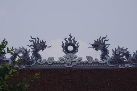 Le temple Tranh de Ninh Giang hinh anh 2