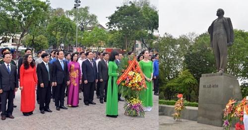 Commemorations du 146e anniversaire de la naissance de Lenine a Hanoi hinh anh 1