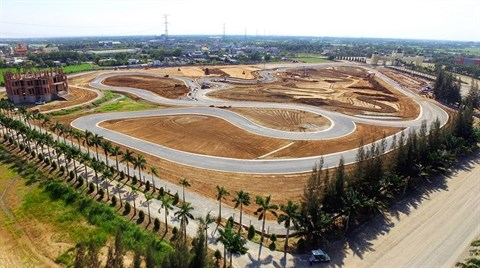 Happy Land, premier stade automobile au Vietnam, va faire chauffer la gomme hinh anh 1