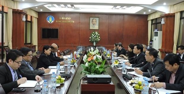 Echange d'experiences Vietnam-Philippines dans la gestion de l'irrigation hinh anh 1