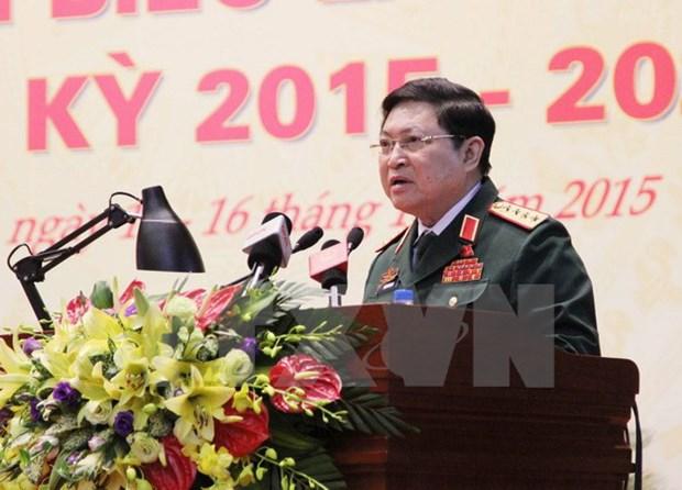 Une delegation du ministere vietnamien de la Defense en visite en Russie hinh anh 1