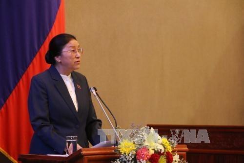 Cloture de la premiere session de l'Assemblee nationale laotienne hinh anh 1