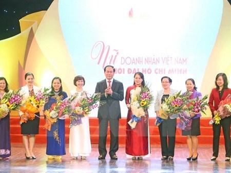 Le chef de l'Etat rencontre des femmes d'affaires exemplaires hinh anh 1
