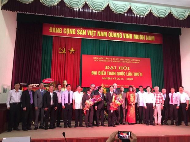 Congres national de l'Association d'amitie et de cooperation Vietnam-Bresil hinh anh 1