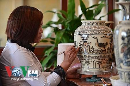 Chu Dau, la quintessence de la ceramique vietnamienne hinh anh 2