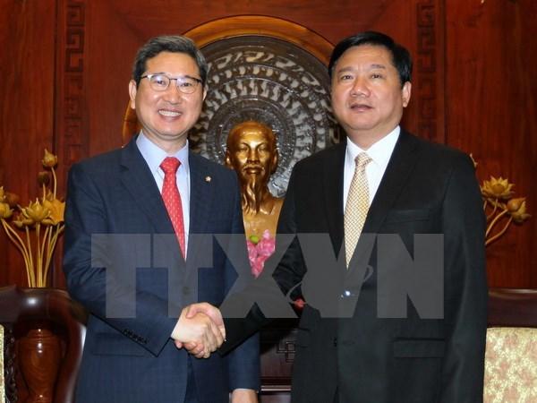Ho Chi Minh-Ville souhaite renforcer sa cooperation avec la R.de Coree hinh anh 1