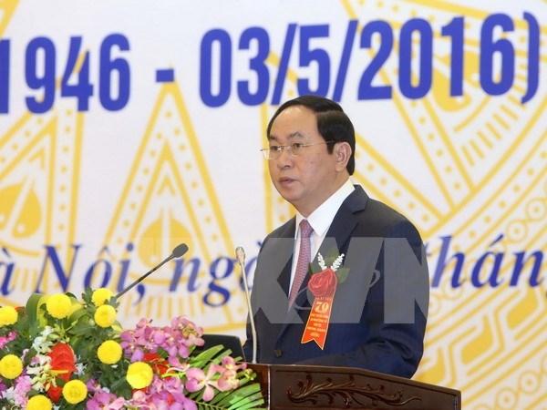 Celebration des 70 ans de l'organe des affaires ethniques hinh anh 1