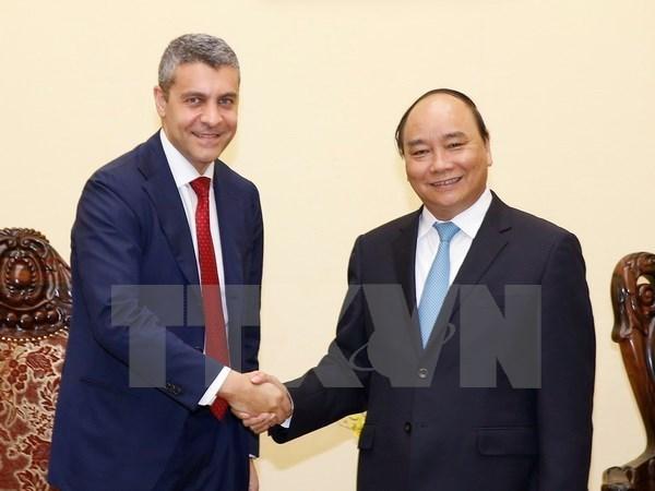 Nguyen Xuan Phuc recoit un responsable de Goldman Sachs hinh anh 1