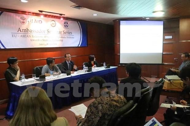 Les relations UE-ASEAN au menu d'un colloque hinh anh 1