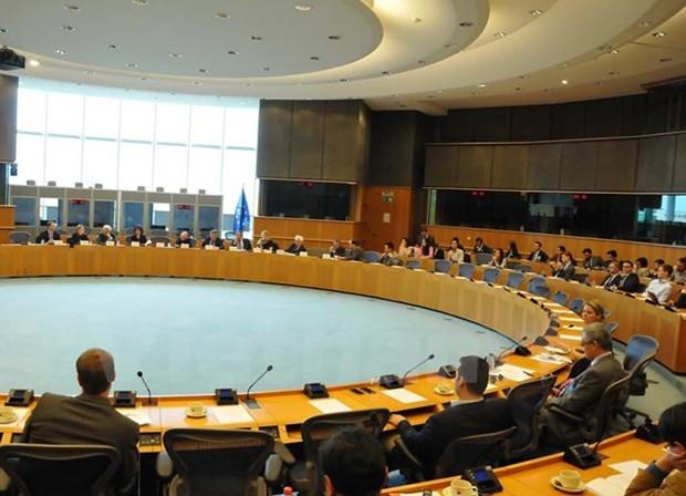 Porter les liens commerciaux Union europeenne-Vietnam a une nouvelle hauteur hinh anh 1