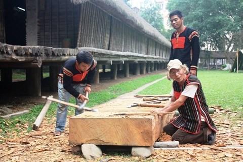 Renovation des nha rong et nha dai du Musee d'ethnographie du Vietnam hinh anh 2