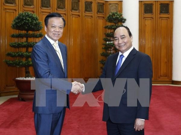 Le PM recoit le secretaire du Comite du Parti de la province chinoise du Guizhou hinh anh 1