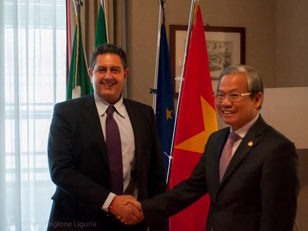 La region de Ligurie (Italie) souhaite renforcer sa cooperation avec le Vietnam hinh anh 1