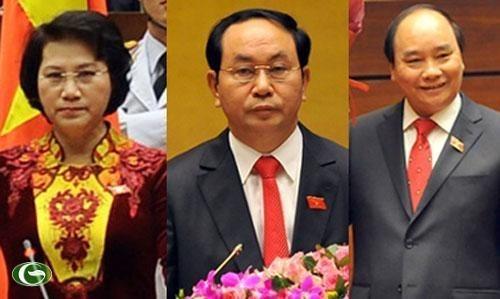 Felicitations aux nouveaux dirigeants vietnamiens hinh anh 1
